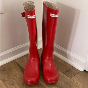 Hunter rain and snow boots